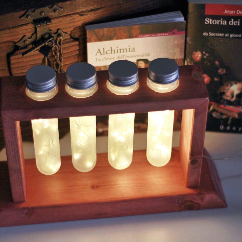 Lampada da tavolo – chimica e alchimia – design a parma | T006