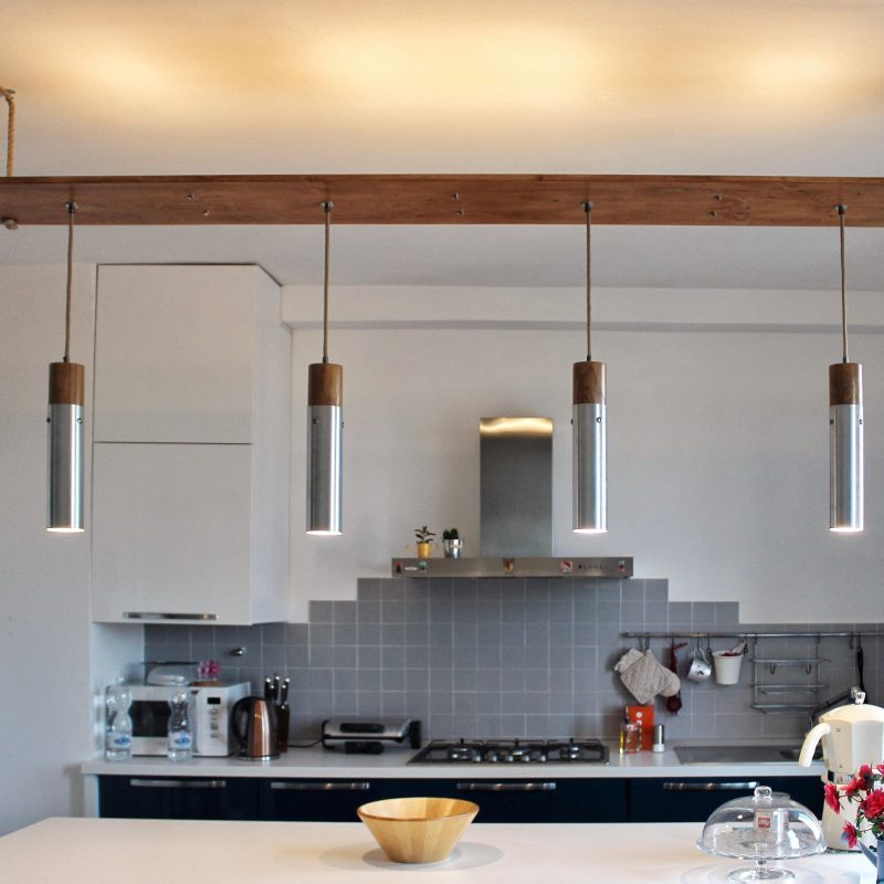 Lampadario domotico – luci led – arredamento design parma | T017