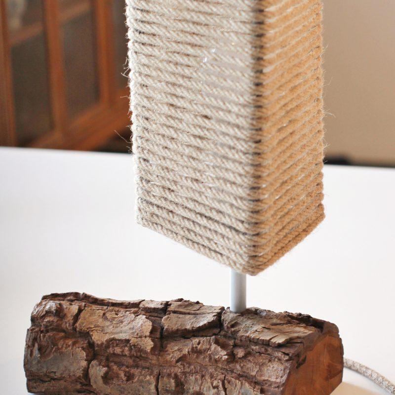 Lampada in legno – legno naturale – lampade ufficio parma | T021