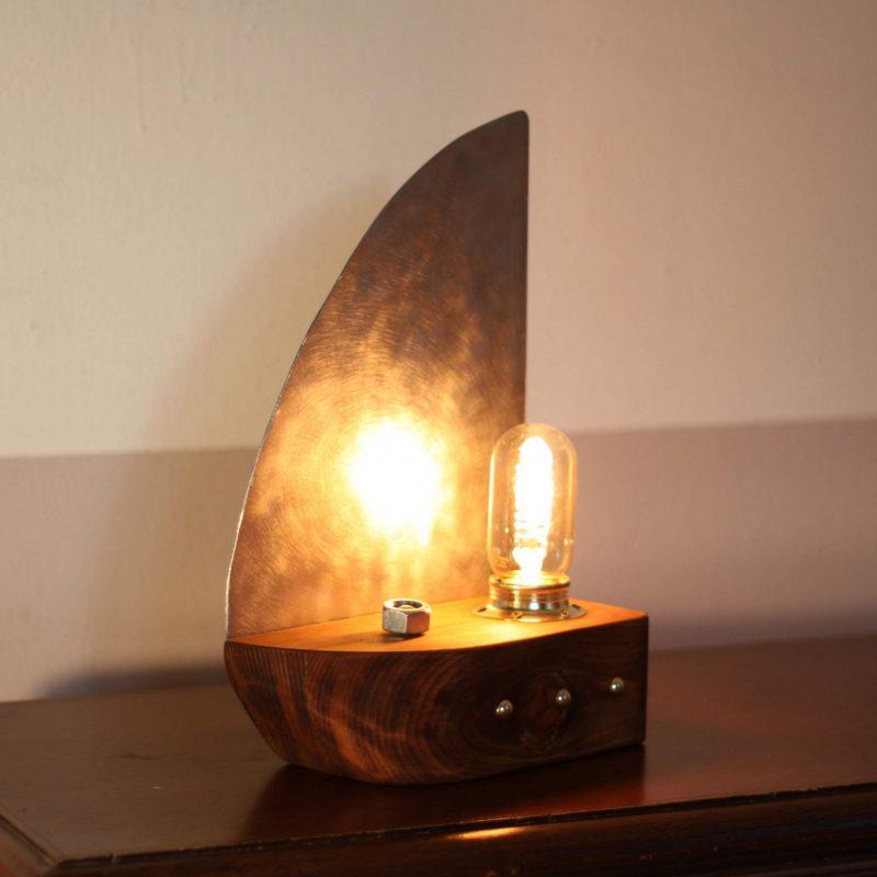 Lampada tavolo design – lampada nave arredamento | T012